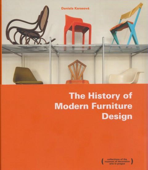 The History Ofmodern Furniture Design Anglicky Cizojazyn Knihkupectv Juditina V